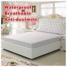 Velfont Waterproof Anti-dustmite Mattress Protector/Bedsheet (Fitted)