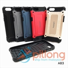 OPPO A59 F1S F5 F7 YOUTH F9 A83 SPIGEN RUGGED ARMOR BACK CASE