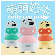 Cow Children Baby Potty Training Toilet Infants Toddler Pot