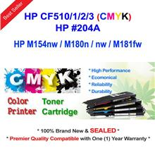 HP 204A CF510A CF511A CF512A CF513A Color Toner Full Set CMYK