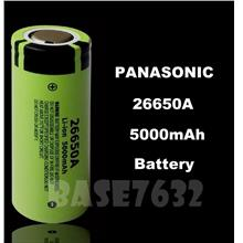 GENUINE Panasonic 26650 26650A Rechargeable Li-Ion 5000mAh Battery