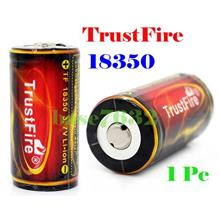 1 pc  TrustFire  18350 1200mAh Rechargeable Battery