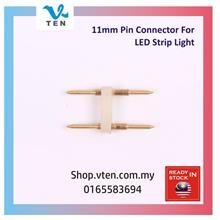 Pin Distance 11mm 2 pin Copper Pin Connector For LED Strip Tube