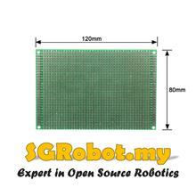 8x12 cm Prototype Single-Side PCB 8x12 Panel Universal Board