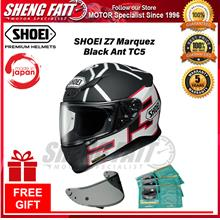 SHOEI Z7 MARQUEZ BLACK ANT TC5 - FULL FACE HELMET [ORIGINAL]