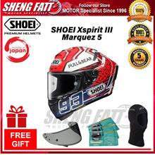 SHOEI XSPIRIT 3 MARQUEZ 5 TC1 - FULL FACE HELMET with Gift [ORIGINAL]