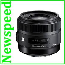 New Canon Mount Sigma 30mm F1.4 DC HSM Art Lens