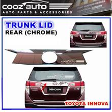 Toyota Innova 2016-2018 Chrome Rear Trunk Boot Lid