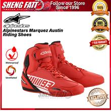 Alpinestars Marc Marquez 93 Austin Riding Shoes Red LIMITED EDITION