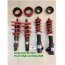 HONDA CIVIC FD ProZ2 Adjustable High Low Body Shift
