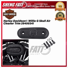 Harley-Davidson ® Willie G Skull Air Cleaner Trim 29400341 - [ORIGINAL])