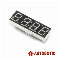 4 Digit 7 Segment 0.56 Inch Red Display (Common Anode)