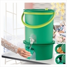 [Bundle] Tupperware Water Dispenser 14.5L + Canister 7.0L - 11144907+11144378