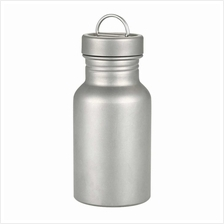 Wide Mouth Bottle Titanium Water Bottle for Outdoor Camping Hiking Picnic