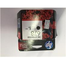 HP 678 BLACK INK CARTRIDGE ORIGINAL CZ107AA **EXPIRED**OLD STOCK**