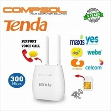 Tenda 300Mbps Wireless N300 4G LTE and VoLTE Router V2.0 (4G680)