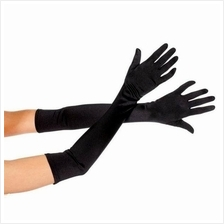 Satin Long Finger Elbow Sun Protection Gloves Opera Evening Party Hot!
