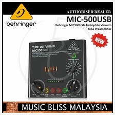 Behringer MIC500USB Audiophile Vacuum Tube Preamp *Low Prices*: Best Price  in Malaysia