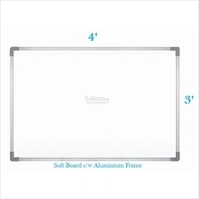 Soft Notice Board 3' x 4' - Free Delivery & Installation