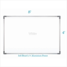 Soft Notice Board 4' x 8' - Free Delivery & Installation
