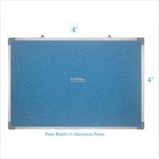 Foam Notice Board 4' x 4' - Free Delivery & Installation