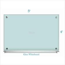 Tempered Glass Whiteboard 4' x 5'