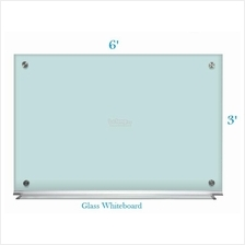 Tempered Glass Whiteboard 3' x 6'