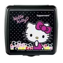 Tupperware Hello Kitty Sandwich Keeper (1) - Black