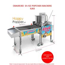 Pop corn popcorn maker machine 24oz gas full set commercial big