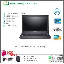 Dell Vostro 3360 Intel i5-3337u 1.7GHz 4GB 500GB HDD Win7 Laptop