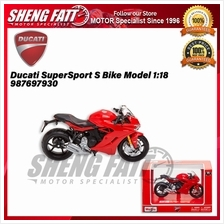 Ducati SuperSport S Bike Model 1:18 Scale 987697930 - [ORIGINAL]