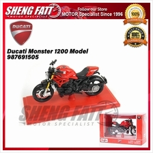 Ducati Monster 1200 Model 1:18 Scale 987691505 - [ORIGINAL]