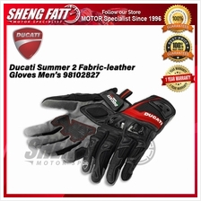 Ducati Summer 2 Men\u2019s Fabric-leather Gloves 98102827 - [ORIGINAL]