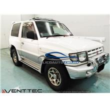 HIGH QUALITY MITSUBISHI PAJERO V6 2/4 DR DOOR/WINDOW VISOR YR 91'-99'