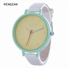 MINGZAN 6207 WOMEN QUARTZ WATCH STEREO SCALES LEATHER BAND FEMALE WRISTWATCH (