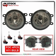 Toyota Perodua Spotlight Fog Lamp OEM Replacement Spare Part Glass