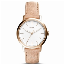 Fossil ES4185 Women Neely Three-Hand Sand Leather Watch