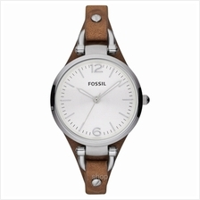 Fossil Georgia Silver Dial Women's Watch - ES3060