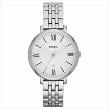 Fossil Jacqueline Silver Dial Stainless Steel Women's Watch - ES3433
