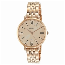 Fossil Jacqueline Rose Gold-Tone Analog Women's Watch - ES3435