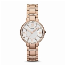 Fossil Virginia Three-Hand Crystal Gold Tone Women's Watch - ES3284