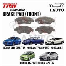 TRW FRONT BRAKE PAD HONDA CITY TMO GM2 GM6 2009-18, JAZZ GK5 2014-18 C