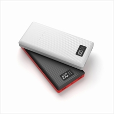 (Genuine) PINENG PN-969 20000mAh Lithium Polymer Power Bank - Black/ White
