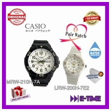 CASIO ORIGINAL MRW-210H-7A / LRW-200H-7E2 COUPLE SPORT CASUAL WATCH