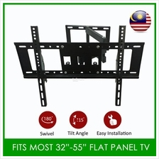 Full Motion Tilt TV Wall Mount Fits Most 32 - 55 Inch LED LCD