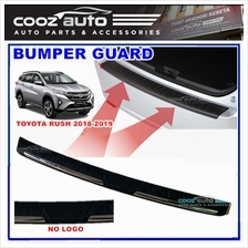 Toyota Rush 2018 2019 ABS Rear Bumper Guard Protector (without logo)