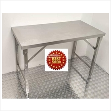 Stainless Steel Folding Table 1800 x 600 x 800