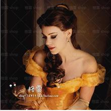 Cosplay hair beauty and the beast/ ready stock/ belle wig