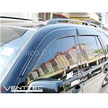 HIGH QUALITY BMW X5 (E-70) DOOR/WINDOW VISOR FOR YEAR 07' - '14