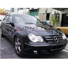 HIGH QUALITY MERCEDES W203 C-CLASS DOOR/WINDOW VISOR FOR YEAR 00'-07'